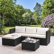 Colleen 4 Seater Rattan Corner Sofa Set Zipcode