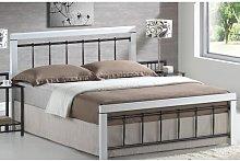 Collier European Kingsize Bed Frame Brambly Cottage