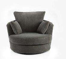 Colmars Swivel Tub Chair August Grove Upholstery