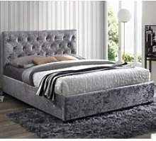 Cologne Steel Fabric Bed - 4ft6 Double