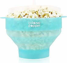 Colonel Popper Microwave Popcorn Maker Popcorn