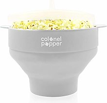 Colonel Popper Microwave Popcorn Popper Maker Hot
