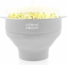 Colonel Popper Microwave Popcorn Popper Maker Hot