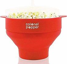 Colonel Popper Microwave Popcorn Popper Maker -
