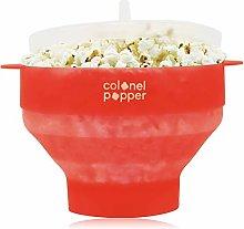 Colonel Popper Silicone Popcorn Maker Popcorn