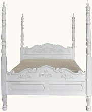 Colonial Four Poster Bed Astoria Grand Finish: