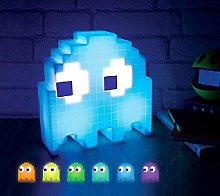 Color Changing Cartoon Pac-Man Lamp Led Mini USB