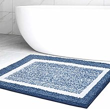 Color&Geometry Bathroom Rug Mat, Ultra Soft and