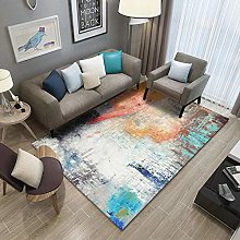Color halo Fluffy Rug for the Bedroom, Living Room