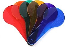 Color Paddles-Diadia 6pcs Six Color Tablets