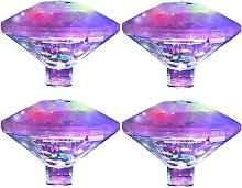 Color Pool Floating Lamp, Disco Bath Light, IP68