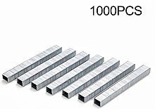 Color Yun 1000Pcs 1008J Door Shaped Staples 11.3 *