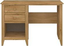 Colorado 2 Drawer Office Desk - Pine