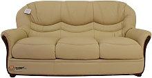 Colorado Genuine Italian Leather 3 Seater Sofa