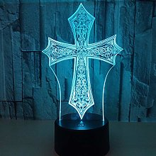 Colorful 3D Table Lamp 3D Night Light Table Lamp