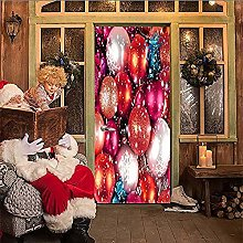 Colorful Big Balloon Christmas Elements 3D