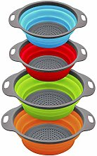 Colorful Collapsible Kitchen Strainer/Colander,