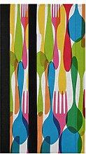 Colorful Dishware Refrigerator Door Handle Covers
