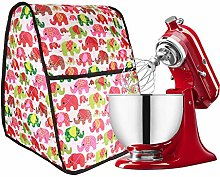 Colorful Elephants Kitchen Aid Mixer Cover,Large