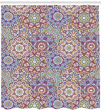Colorful Mandala Paisley Leaf High-definition