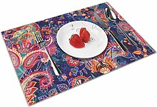 Colorful Paisley Insulation Heat Resistant Table