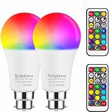 Colour Changing Light Bulbs, RGB Colours + Warm