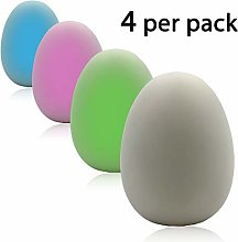 Colour Changing Small Nightlight Eggs, Multicolor