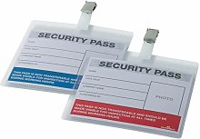 Colour Coded Security Pass Pk25 - DB90922 - Durable