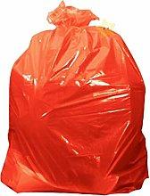 Coloured Rubbish Sacks Red Kitchen Home Bin Liners