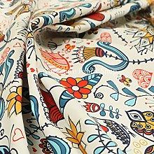 Colourful Artistic New Modern Pattern Velour