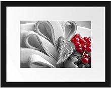 Colourful Fresh Fruit Bowl Framed Photographic Art