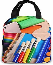 Colourful Portable Lunch Bag Insulated Cooler Bag