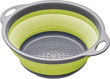 Colourworks Collapsible Colander in Green
