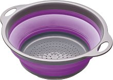Colourworks Collapsible Colander in Purple