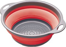 Colourworks Collapsible Colander in Red