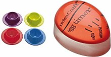 Colourworks KitchenCraft Set of 4 Silicone Egg