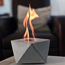 COLSEN Square Tabletop Rubbing Alcohol Fireplace