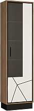 Colton 1 Door Right Hand Display Cabinet