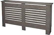 Columba Modern Radiator Cover Wall Cabinet Wood