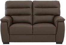 Columbus Leather 2 Seater Sofa