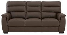 Columbus Leather 3 Seater Sofa