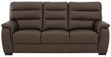 Columbus Leather 3 Seater Sofa