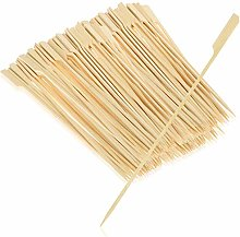 COM-FOUR® 200x Finger Food skewers Made of Bamboo