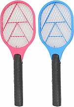 com-four® 2x Electronic fly swatter - Insect