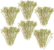 com-four® 300x Fingerfood skewers Made of Bamboo