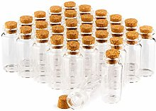 com-four® 30x Spice jar Set with Corks, Mini