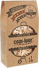com-four® 500 g alder wood smoking chips - 100%