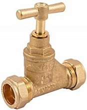 COMAP 11002 28mm Brass Compression Stopcock Valve