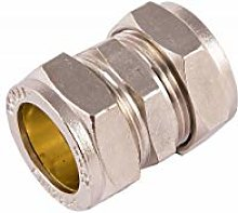 COMAP 75721 22mm Chrome Compression Coupling -