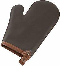 Combekk 500122 Dutch Oven Glove, Leather, Brown